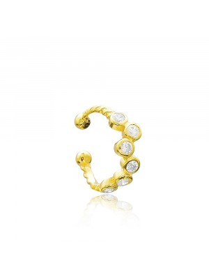 Gold Cartilage Goldplated Earcuff