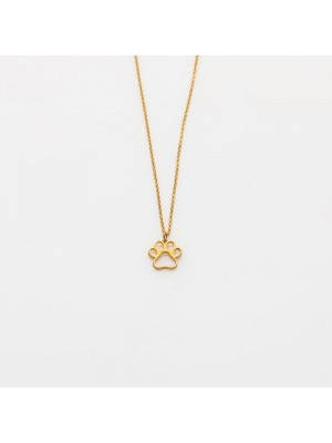 Toy Paw Gold Necklace