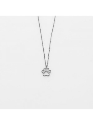 Toy Paw Silver Necklace