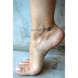 Walky Anklet silver