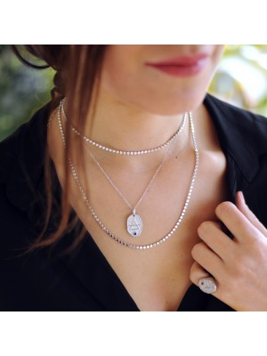 SILVER NECKLACES COMBO