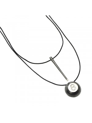 Κολιέ lucky 8ball charm necklace