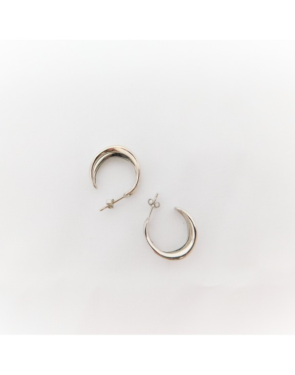 Double Up Loop Silver