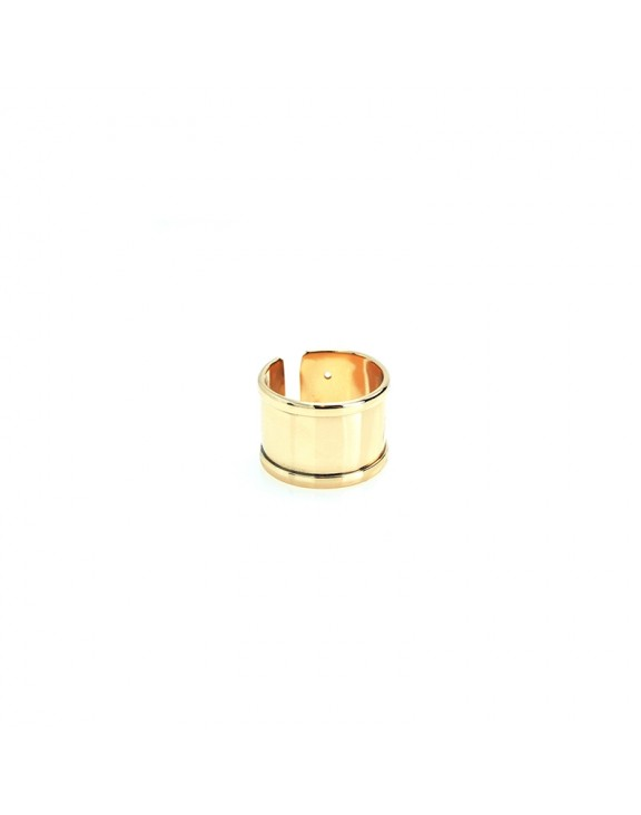 Δαχτυλίδι flat M ring rose gold