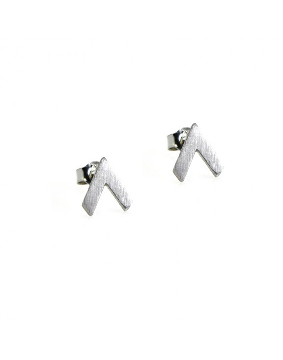 Σκουλαρίκι earrings funky up silver