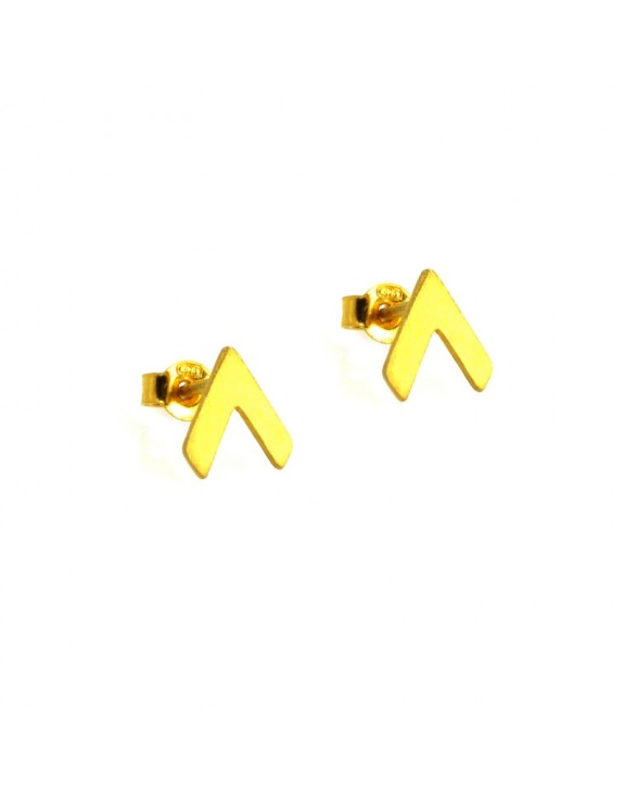 Σκουλαρίκι earrings funky up gold