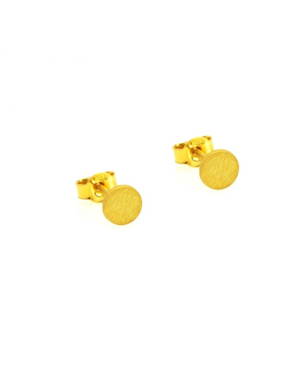Σκουλαρίκι earrings funky sun gold