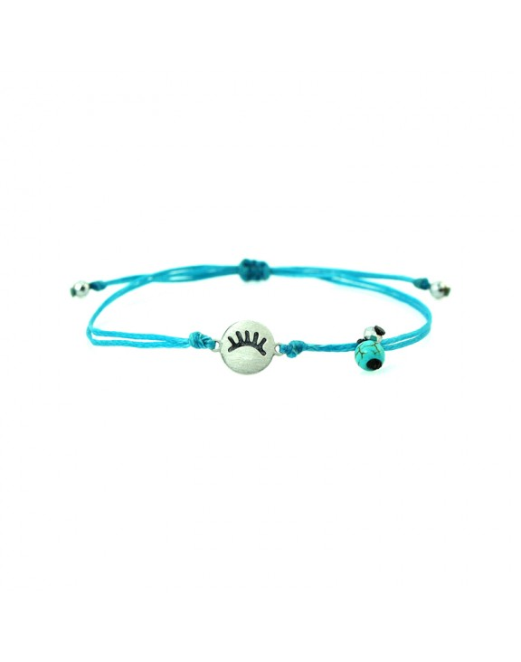 Βραχιόλι blink an eye silver turquoise