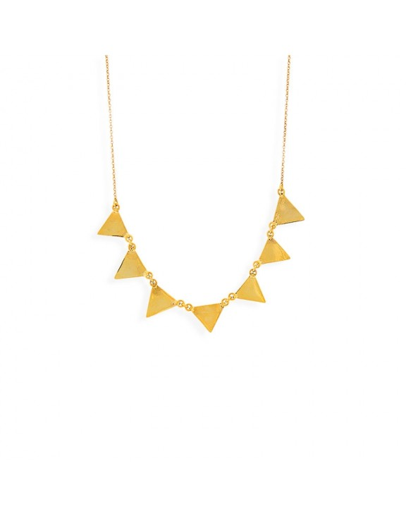 Pennants necklaces gold
