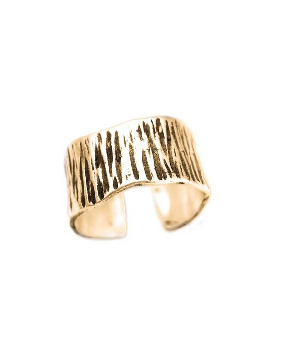Zebra ring gold